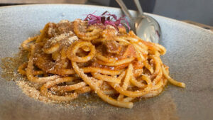 Bucatini With Pork Belly Ragout