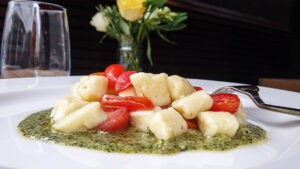 Potato Gnocchi With Basil Pesto
